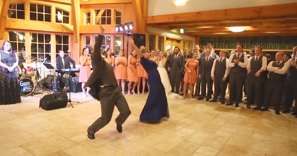 It Was Just An Ordinary Wedding Dance... And Then This Happened